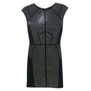 Rebecca Taylor Silver Studded Dress