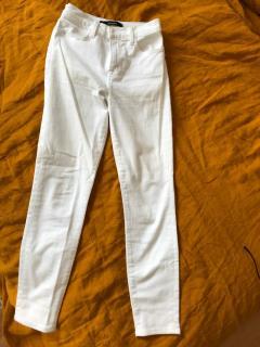 JBrand Maria White Jeans Size 27