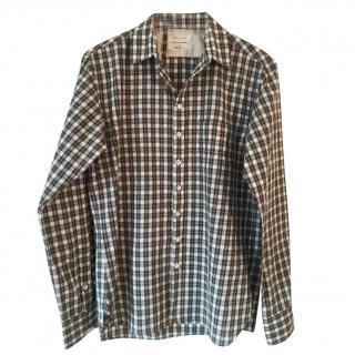 Rag & Bone tailored check shirt