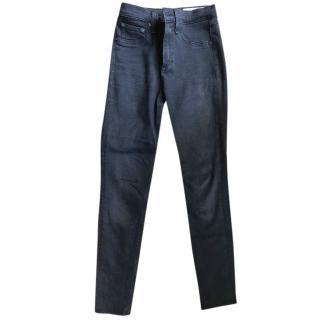 Rag and Bone High Waisted Skinny Jeans