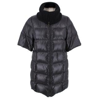 Prada Short Sleeve Puffer Coat