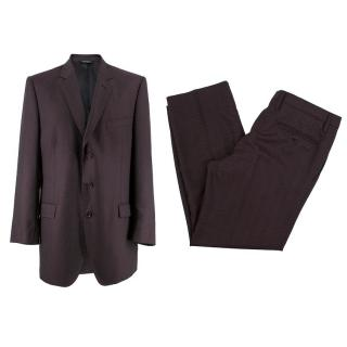 Dolce & Gabbana Men's Wool-Blend Suit