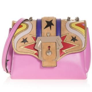 Paula Cademartori pink stars embellished bag
