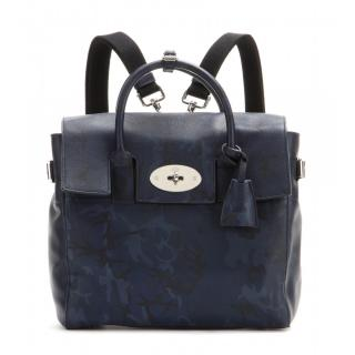 Mulberry Navy Cara Delevigne Backpack
