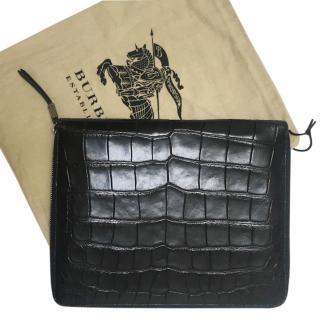 Burberry Alligator iPad Case