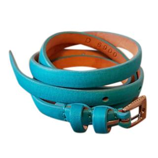 Barbara Bui skinny blue belt