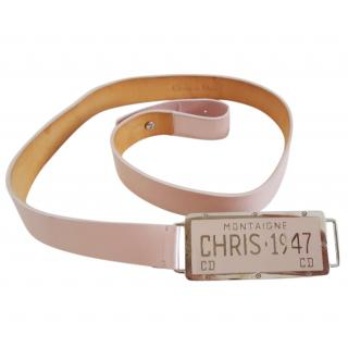 Christian Dior Licence Plate 1947 Belt