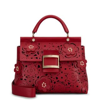 Roger Vivier Viv' Cabas Red Bag Limited Edition