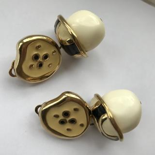 Givenchy Paris Vintage Couture Earrings