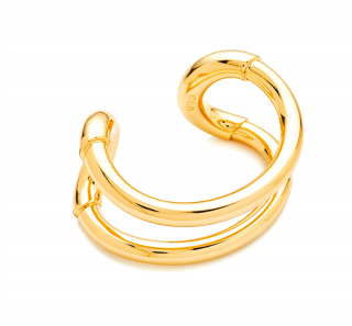 Giles & Brother The Original Light Gold Cortina Cuff