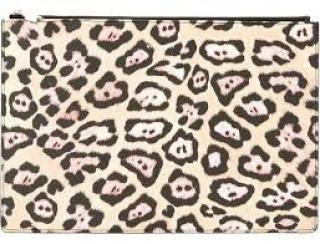 Givenchy Large Leopard Print Pouch
