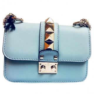VALENTINO ROCKSTUD Lock Small Shoulder Bag 477a3c52d34b6