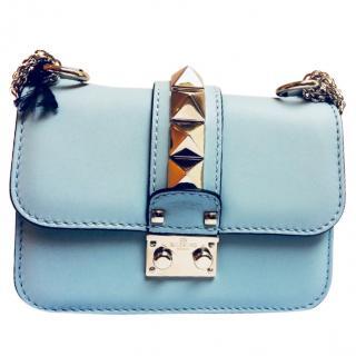 VALENTINO ROCKSTUD Lock Small Shoulder Bag
