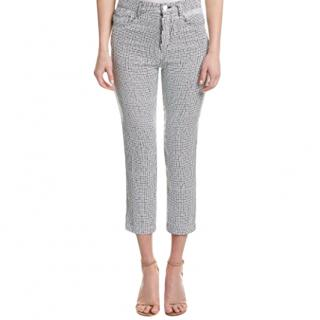 Sandro Sequined embellished trousers