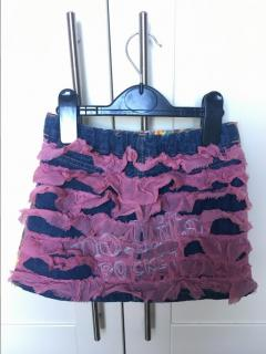 Designer 'Nolita Pocket' ruffle skirt