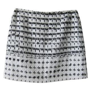 Erdem Mari tweed mini skirt