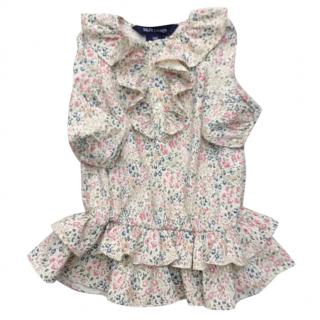Ralph Lauren girl's floral dress