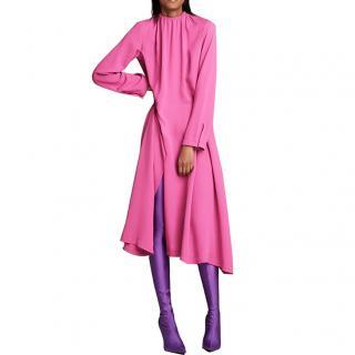 Balenciaga SS18 Rose Strangled Dress