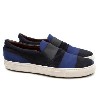 Acne Studios Hans Striped Slip-on Sneakers
