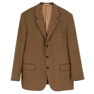Gian Giacomo Soleri Brown Cashmere Jacket
