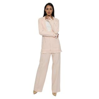 Chanel Pale Pink Trouser Suit