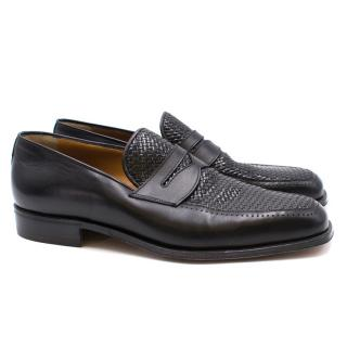 Avi Rossini Black Leather Shoes