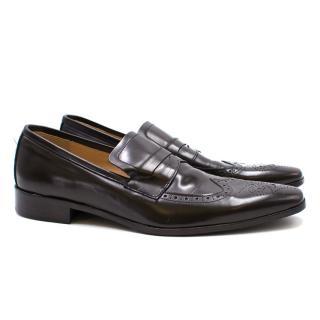 Base Blu Dark Brown Shoes