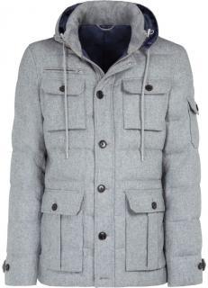 SuitSupply Grey Parka
