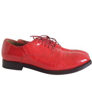Paul Smith Men Only red patent leather shoes