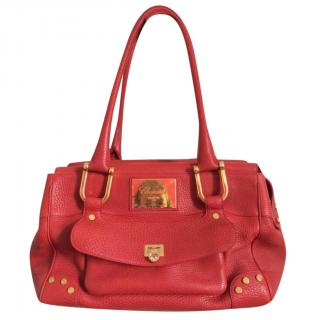 Chopard Red and Gold Shoulder Bag