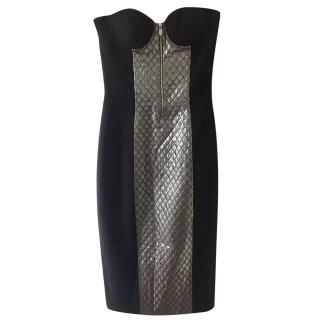 MIchael Kors fitted quilted dress