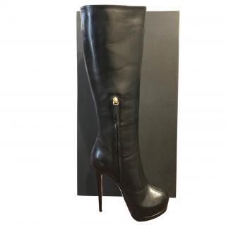 Giuseppe Zanotti Black Stiletto Boots