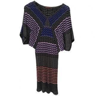 Missoni multicoloured striped dress