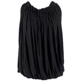 Alexander McQueen Black Sleevless Blouse
