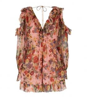 Zimmermann Lovelorn Frill Trim Playsuit