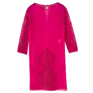 Stella McCartney Cotton and Silk-Blend Cover-Up Dress