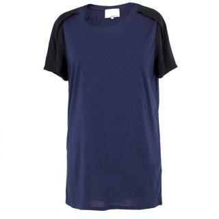 Phillip Lim Silk Detail T-Shirt