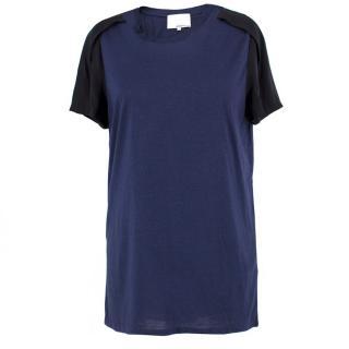 Phillip Lim Silk Detail T-Shirt