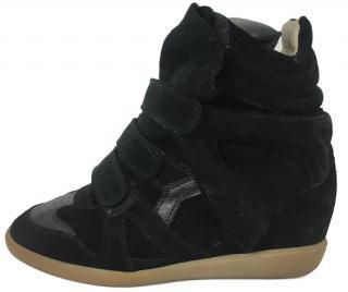 Isabel Marant Black Beckett Sneakers