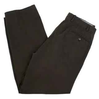 Canali Men's Straight-Leg Trousers