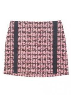 Maje azumi geometric mini skirt