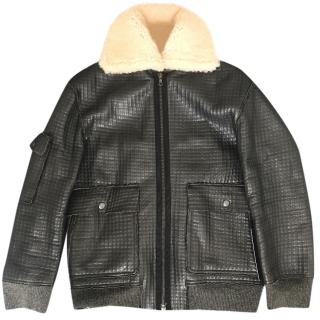 Brock Collection leather jacket