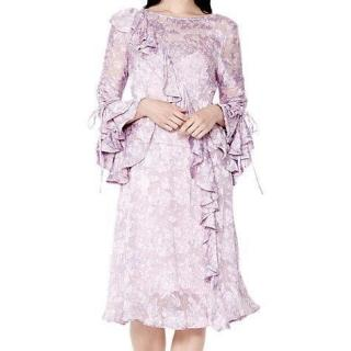 Ghost London Salma Floral Frill Dress