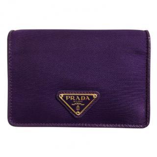 Prada Purple Cardholder