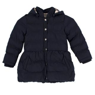 Burberry Girl's Hooded Coat