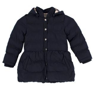 Burberry Girl's Hooded Coat