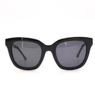 Loewe Black & Gold Sunglasses