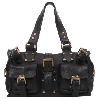 Mulberry Vintage Roxanne Black Leather Bag
