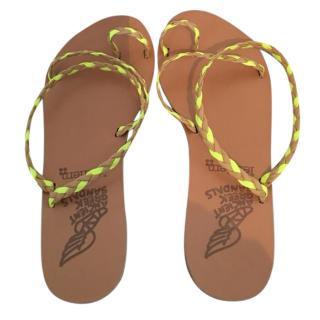 Harrods Ancient Greek Braided Sandals