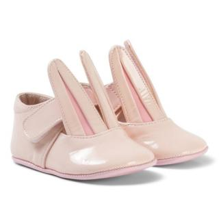 NEW Minna Parikka Baby Crib Shoes Bunny Pale Pink